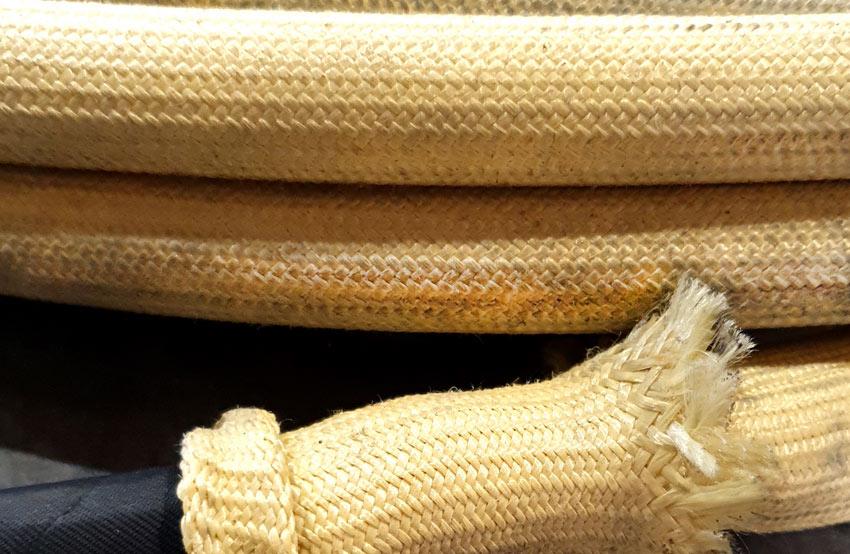 Funda de fibra de kevlar para protección térmica