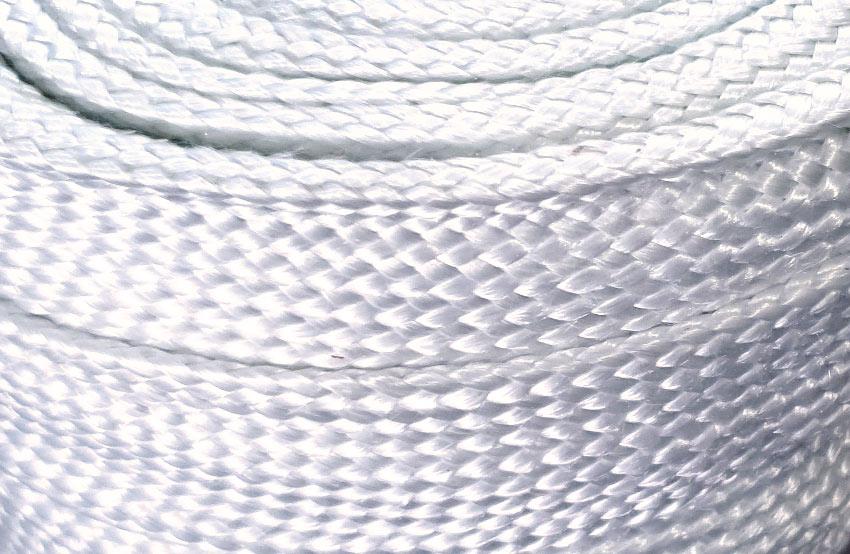 Funda de fibra de vidrio para protección térmica