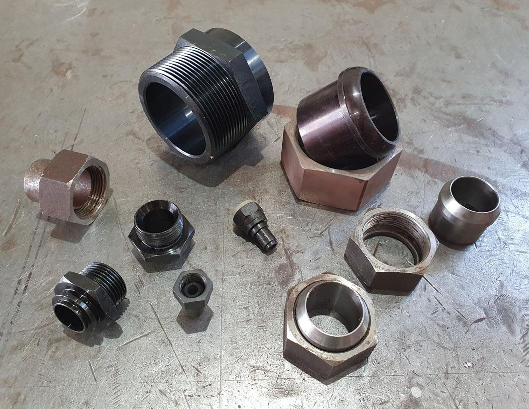 Terminales para tubo flexible de acero inoxidable